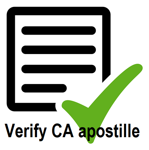 verify california apostille