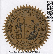 north carolina great seal